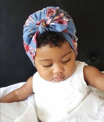 vanguardia de los tiempos disponible sitio web profesional Mira como hacer turbantes para bebes en muy pocos pasos ...