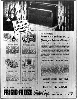 1948 Mitchell M 10 Room Air Conditioner Ad Room Air Conditioner
