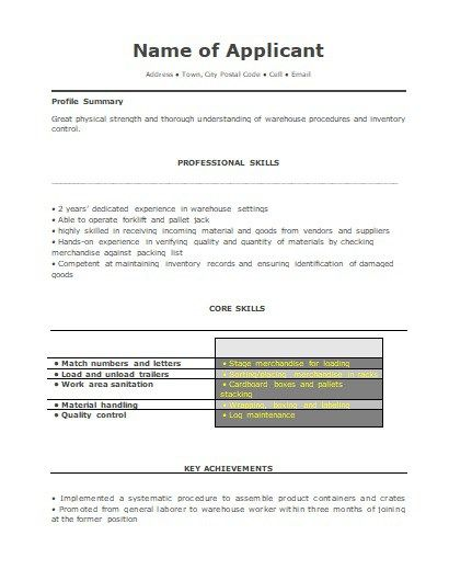 Warehouse Manager Resume 2 wordstemplates Pinterest - warehouse manager resume