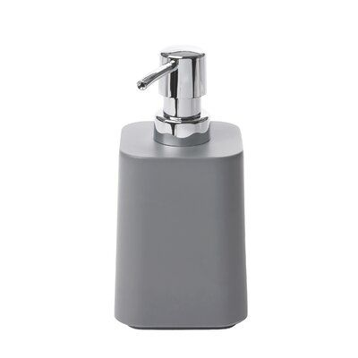 Umbra Scillae Soap Dispenser Color Charcoal Bathroom Soap Dispenser Soap Dispenser Soap Pump