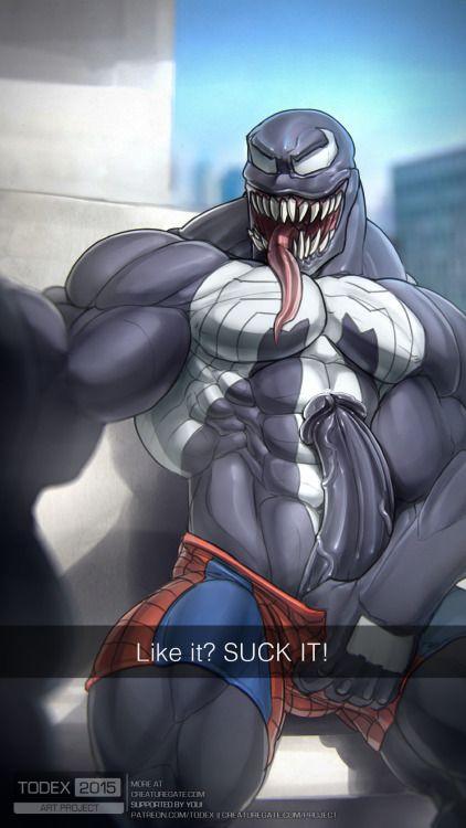Venom gay porn