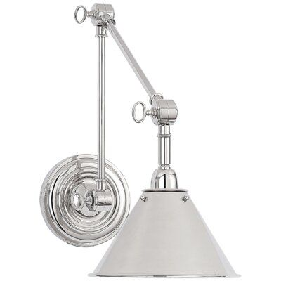 Ralph Lauren Home Anette 1 Light Swing Arm Lamp Finish Polished