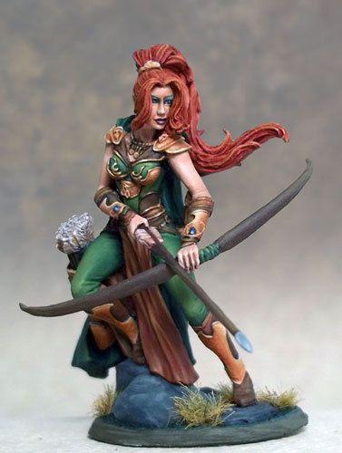 Dark Sword DSM-7431 Female Ranger with Bow Archer Warrior Adventurer Scout VIF