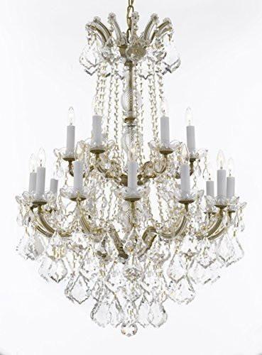 Swarovski Crystal Trimmed Chandelier Maria Theresa Crystal