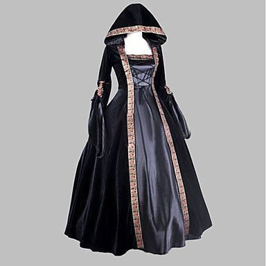 Photo of Renaissance Medieval Costume Women's Dress Masquerade Party Costume