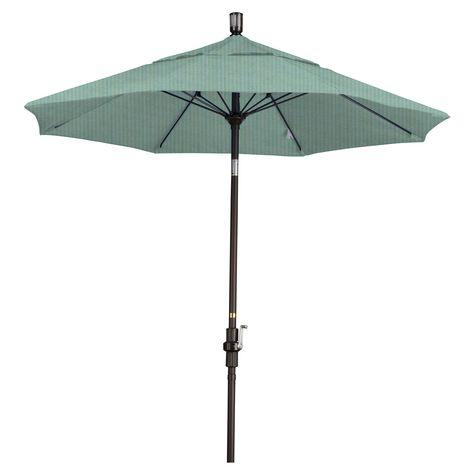 California Umbrella 7 5 Ft Aluminum Collar Tilt Olefin Patio Gscuf758117 F03