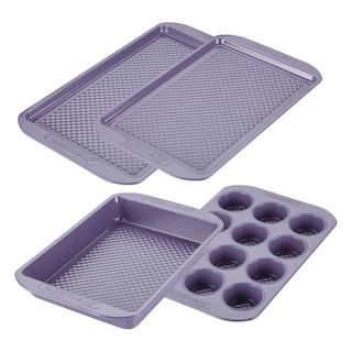 Farberware Purecook 4 Pc Nonstick Ceramic Bakeware Set Ceramic