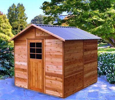 8x8 garden shed building - Garden Sheds With A Difference