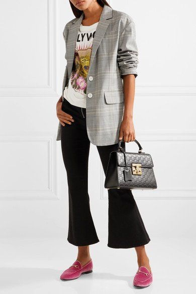 Casual chic outfit, Velvet loafers