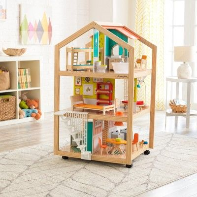 Kidkraft So Stylish Mansion Dollhouse Woodworking Plans Kids