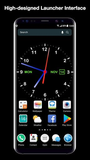 Download Digital Clock Live Wallpaper Launcher On Pc Mac With Appkiwi Apk Downlo Galaxy Phone Wallpaper Iphone Wallpaper Hd Original Phone Wallpaper Design Digital clock live wallpaper