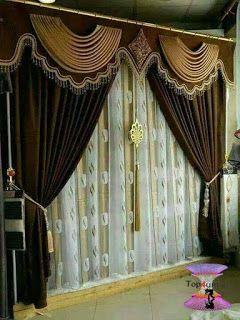 احدث كتالوج صور ستائر صالونات بتصميمات مودرن وكلاسيك 2020 Top4 Curtain Decor Cornice Design Diy Curtains