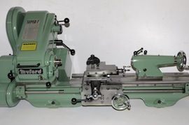front view Myford super 7 7B lathe for sale SK166154