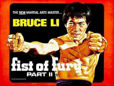 Fist of Fury Part II - 1972 - Movie Poster Magnet