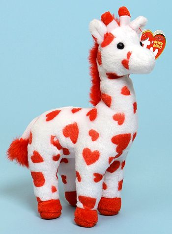 Smoothie, Ty Beanie Baby giraffe reference information and photograph. Beanie Babies, Ty Babies, Ty Beanie Boos, Cute Stuffed Animals, Dinosaur Stuffed Animal, Cute Animals, Sock Animals, Poses, Plushies