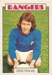 Derek Parlane of Rangers in