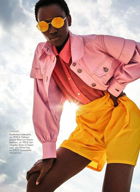 VISIT FOR MORE Herieth Paul Wears Hockney Pastels Lensed By Enrique Badulescu For ELLE Germany February 2018 www.anneofcarvers The post Herieth Paul Wears Hockney Pastels Lensed By Enrique Badulescu For ELLE German appeared first on Fashion design.
