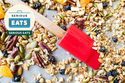 I finally know the secret to crispier, mega-clump granola.  READ MORE...