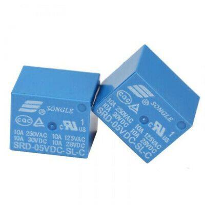 Ad Ebay Practical 5pins Dc 5v Functional Relays Srd 05vdc Sl C