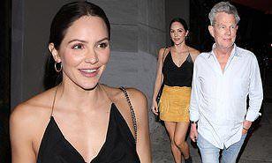 Katharine Mcphee Enjoys Night Out With Husband David Foster In La The Fosters Katharine Mcphee Husband