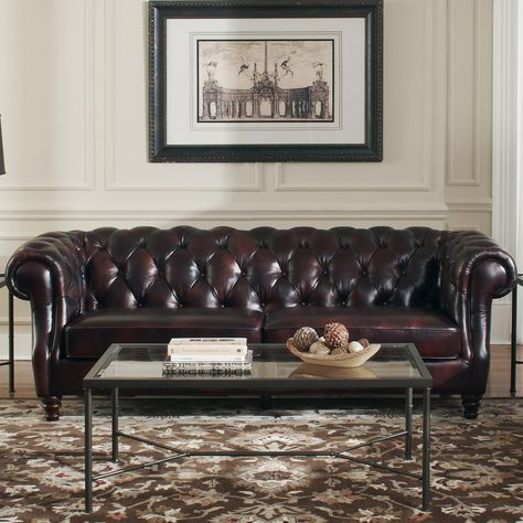 Stupendous Tilsworth Leather Sofa Products Chesterfield Sofa Bralicious Painted Fabric Chair Ideas Braliciousco