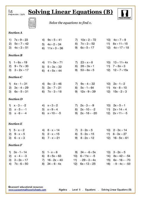 Algebra With Cazoom Maths Algebra Worksheets Word Problem Worksheets Kindergart In 2021 Algebra Worksheets Kindergarten Math Worksheets Addition Mathematics Worksheets Adding and subtraction inverse worksheet