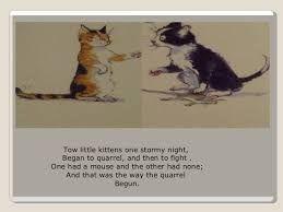 Image Result For Two Little Kittens One Stormy Night Poem Night