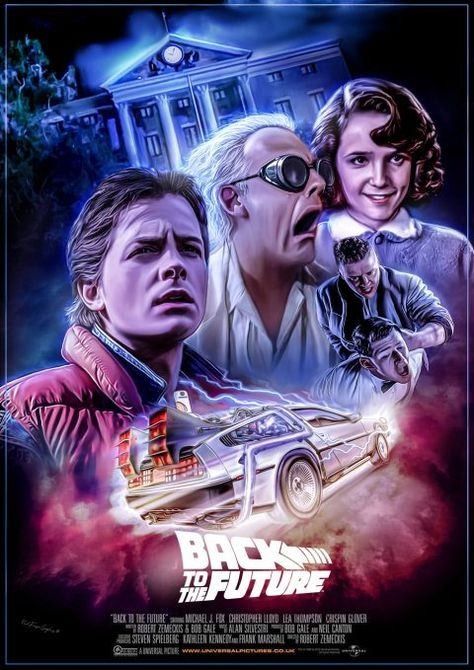 Back To The Future Alternate Poster - PosterSpy