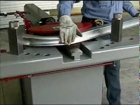 Electric Nc Tube Bending Machine Mdh90cn1 Square Tube Bending Youtube Bend Machine Metal Bending Tube