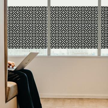 Allstar Privacy Window Film In Black Best Home Window Tinting In
