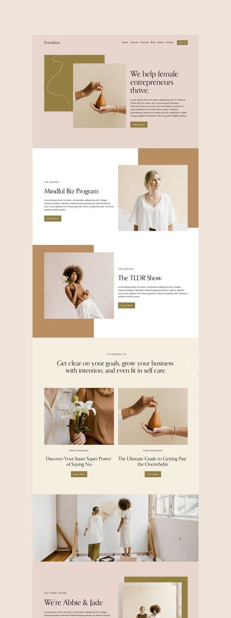 Squarespace Website 7.1 Design Kit