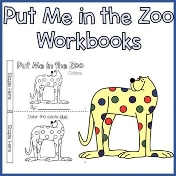 Put Me In The Zoo Free Zoo Activities Preschool Zoo