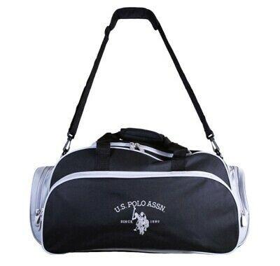 U S Polo 12 X 24 X 12 Black Gray Travel Duffel Gym Bag Men S New Mens Gym Bag Duffel Bag Travel Gym Bag