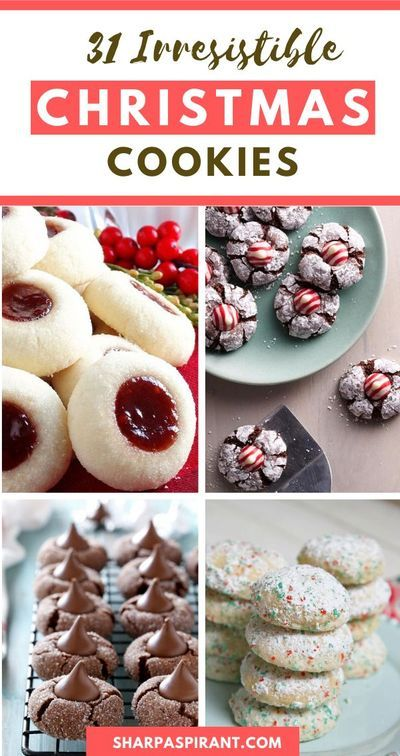 Christmas Cookie Recipes 2020 31 Best Cookie Exchange Recipes in 2020 | Cookies recipes