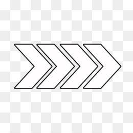 Line Art Arrow Right Arrow Png Seni Panah Gambar