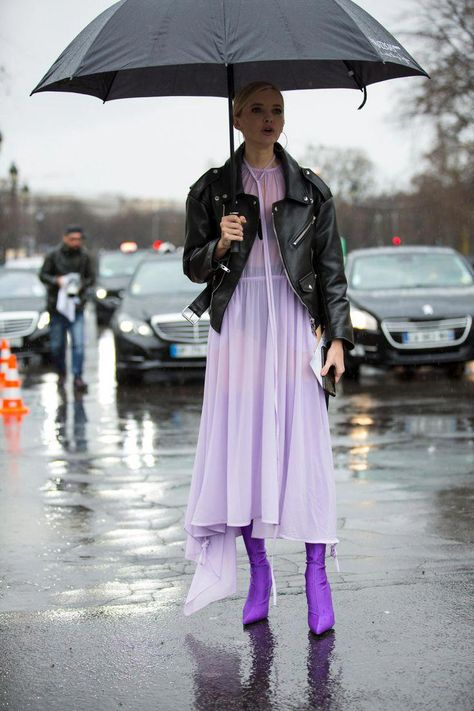 Silver Made Quite a Few Cameos Among Showgoers at Paris Fashion Week - Fashionista