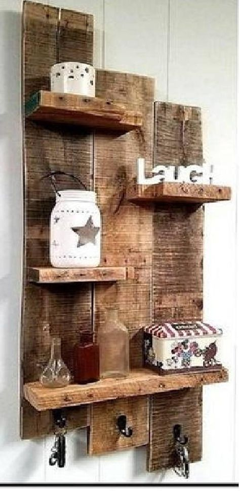 Barn Wood Projects, Reclaimed Wood Projects, Diy Pallet Projects, Woodworking Projects Diy, Wood Projects That Sell, Diy Projects With Pallets, Diy With Pallets, Crafts Out Of Pallets, Easy Small Wood Projects