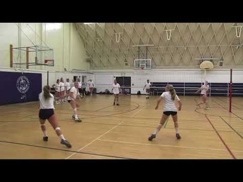 Orange County Volleyball Read And Run Drill Youtube Volleyball Drill Orange County