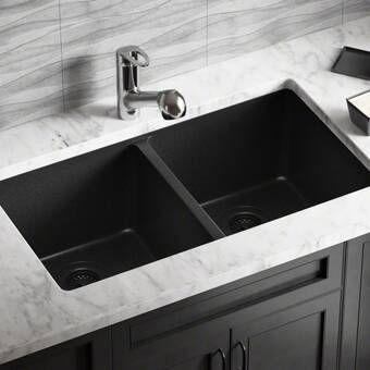 Stainless Steel 43 X 21 Triple Basin Undermount Kitchen Sink In 2021 Undermount Kitchen Sinks Double Bowl Kitchen Sink Black Kitchen Sink