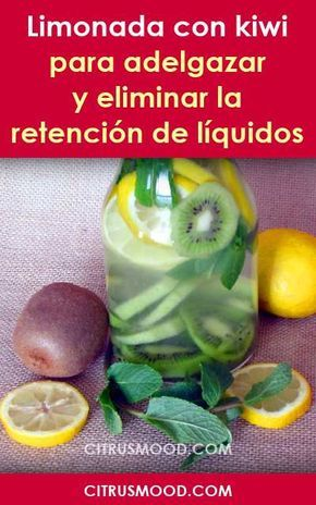 Agua con sal y limon para adelgazar