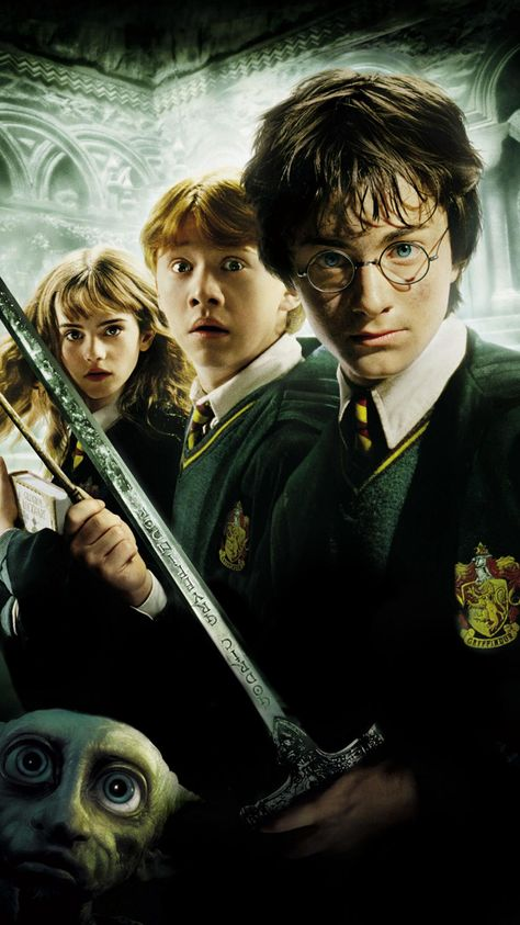 Harry Potter and the Chamber of Secrets (2002) Phone Wallpaper   Moviemania