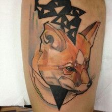 tatouage renard tattoo  (26)