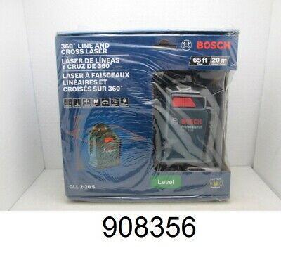 Sponsored Ebay New Bosch Gll 2 20 S 65ft 360 Degree Line Cross Laser Level With Images Laser Levels Bosch Ebay