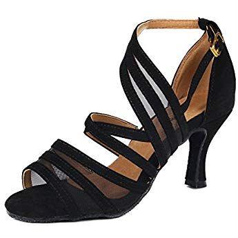 Pour Latine Femmes Danse Chaussures De Syrads X0w8nkOP