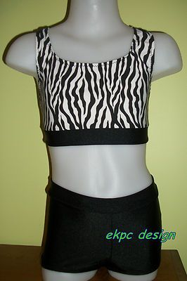 82ee91339624 Ready To Ship 2 Piece Regan SET Booty Shorts by JustDanceCustoms ...