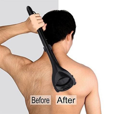 Best way to remove hair both in front and  on your back painlessly with minimum effort. Be confident in yourself can never be easier.