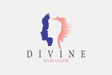 Hair Salon Logo by A.R STUDIO on Creative Market