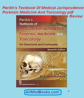 Parikh S Textbook Of Medical Jurisprudence Forensic Medicine And