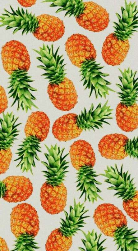 42 Ideas Wall Paper Pattern Food Desktop Wallpapers Pineapple