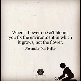 As an OT this statement couldn't be more true, especially when working in school-based practice or with people who have any type of dementia. We need to adjust to them - they cannot.